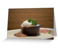 Chocolate Overload Greeting Card