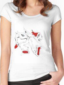 MvS-Warrior Women's Fitted Scoop T-Shirt