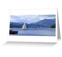 Lake Windermere II Greeting Card