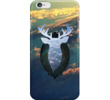 Taxidermy in the sky iPhone Case/Skin