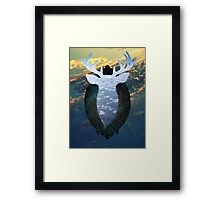 Taxidermy in the sky Framed Print