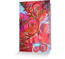 Geomagentia in Bloom Greeting Card