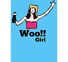 Woo!! Girl Photographic Print