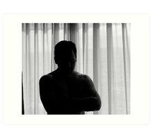 Solitary Man Art Print