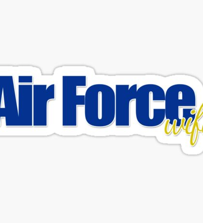 Air Force Wife Sticker