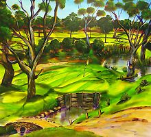How green is my golf course by robert (bob) gammage