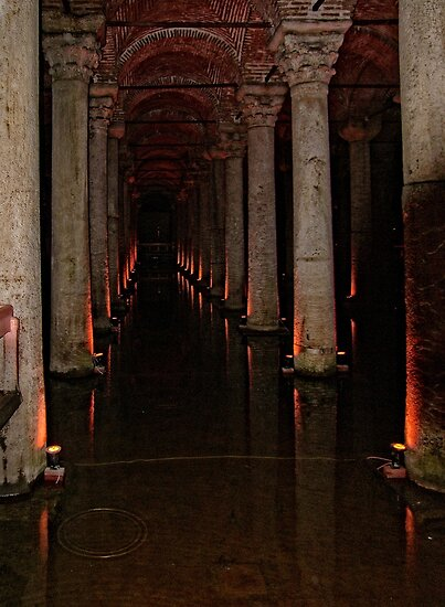 The Basilica Cistern by Tom Gomez