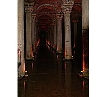 The Basilica Cistern Photographic Print