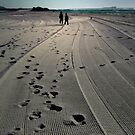Lines and Footprints by KellieBee