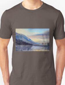 """Evening Falls on Lake Windermere"" T-Shirt"