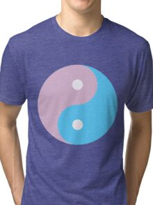 YIN AND YANG-4 Tri-blend T-Shirt