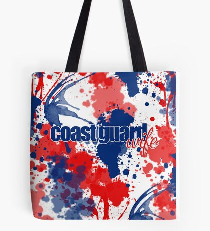 Coast Guard Wife Tote Bag