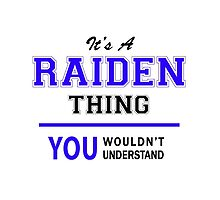 It's a RAIDEN thing, you wouldn't understand !! by thestarmaker