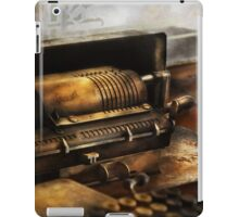 Accountant - The Adding Machine iPad Case/Skin