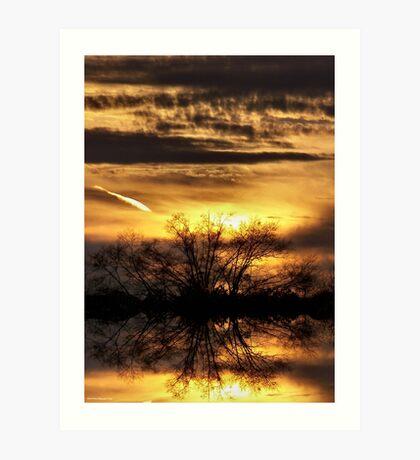 Sunset Promise Art Print