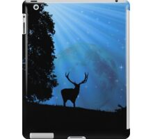 Moon & Deer - JUSTART © iPad Case/Skin