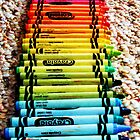 Crayons, a Childs Rainbow by Ashley Berge