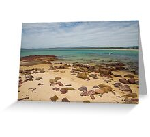 Bar Beach Greeting Card