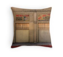 Instant Cash Throw Pillow