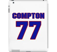 National football player Mike Compton jersey 77 iPad Case/Skin