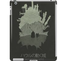 Howl's Moving Castle minimalist movie poster iPad Case/Skin