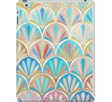 Vintage Twenties Art Deco Pastel Pattern iPad Case/Skin