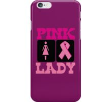 PINK LADY iPhone Case/Skin
