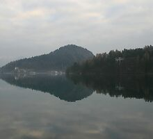 Lake Bled in Slovenia by Andy Cook