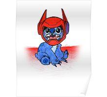 Stitch ft. Baymax Poster