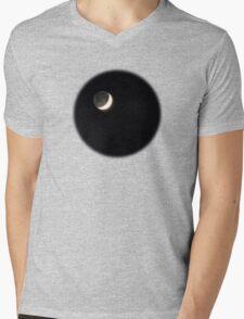 Moon Glow Mens V-Neck T-Shirt