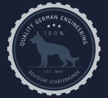 Quality German Engineering, the German Shepherd T-Shirt