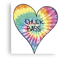 I Heart Chuck Bass - Gossip Girl Canvas Print