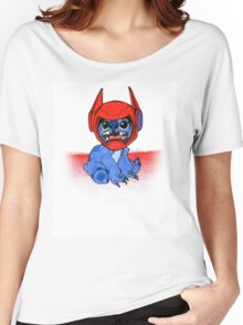 Stitch ft. Baymax Women's Relaxed Fit T-Shirt