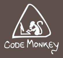 [W] Code Monkey One Piece - Short Sleeve