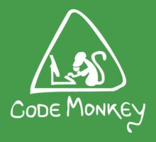 [W] Code Monkey Kids Clothes