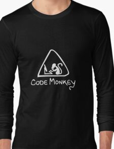 [W] Code Monkey Long Sleeve T-Shirt