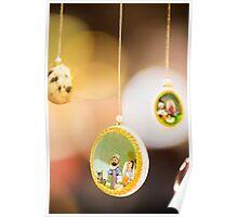 Christmas egg Poster