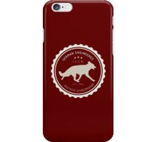 German Engineered, the German Shepherd iPhone Case/Skin