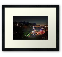 Christmas in Edinburgh Framed Print