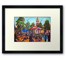 Tori at the Inland Cafe Tamworth Framed Print