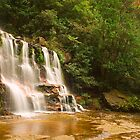 Katoomba Falls by Dev Wijewardane