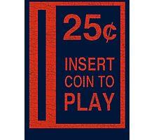 Coin-Op T-shirt Photographic Print