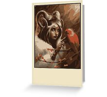 Wood Elf Greeting Card