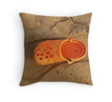 Empty Footsteps...... Throw Pillow