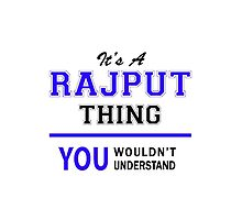 It's a RAJPUT thing, you wouldn't understand !! by thestarmaker