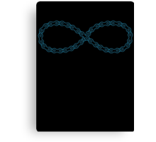 Infinite Chain Canvas Print