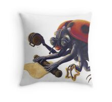 Ladybird Biscuits Throw Pillow