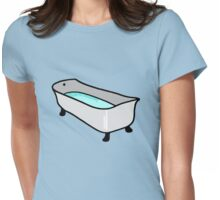 BATHING BATHTUB Womens Fitted T-Shirt