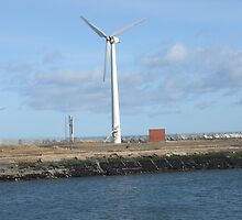 Quayside Windpower by pat oubridge