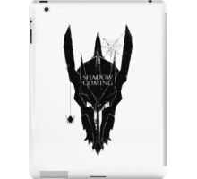 Shadow is coming iPad Case/Skin